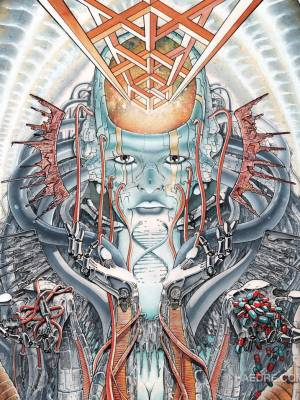 Watercolor cybernetics: Amphète de Silice